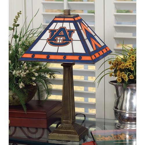Lamp Resin Table Tigers (NCAA Auburn University 23in Mission Lamp, One Size, Multicolor)