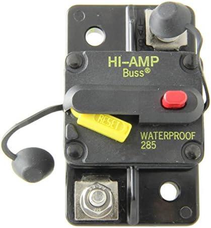 Bussmann CB285-80 Surface-Mount Circuit Breakers, 80 Amps 1 per pack