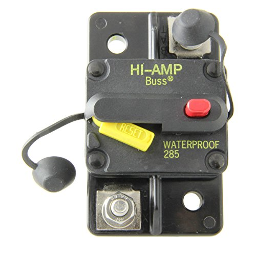 Bussmann CB285-80 Surface-Mount Circuit Breakers, 80 Amps