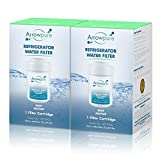 Arrowpure Refrigerator Water Filter Replacement for GE MWF SmartWater, MWFA, MWFP, GWF, GWFA