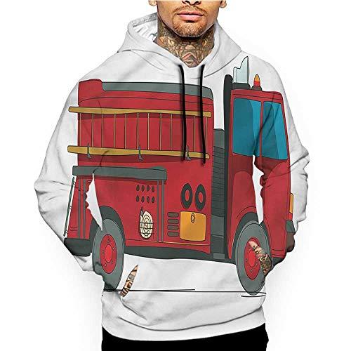 Hoodies Sweatshirt Pockets Farmland,Scenery Drawing Daisies,Zip up Sweatshirts for Women