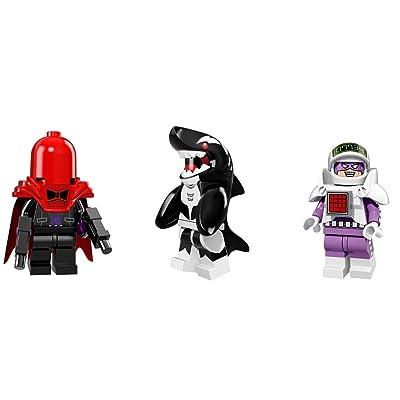 LEGO Orca, Red Hood, Calculator Minifigures Batman Figures: Toys & Games