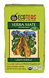 ECOTEAS Organic Unsmoked Yerba Mate Tea Pure Loose Leaf Green Energy 1 lb (Pack of 2)