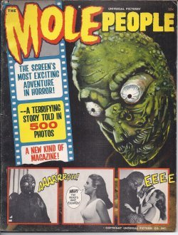 THE MOLE PEOPLE, Universal Pictures Presents
