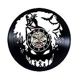 Nightmare Before Christmas Vinyl Wall Clock Vintage Gift