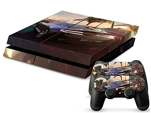 Price comparison product image MODFREAKZ™ Console and Controller Vinyl Skin Set - Crew Auto Cars Racing for Playstation 4