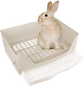 Amakunft Large Rabbit Litter Box