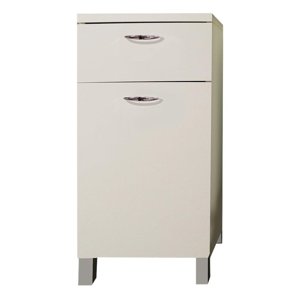 Divina Home mobile base cucina 40x50xh83cm bianco con 1 ...