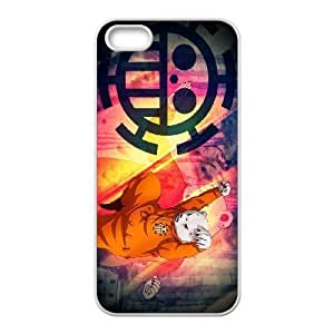Stylish One Piece Design iPhone 5 5s Cell Phone Case Funda blanco 8