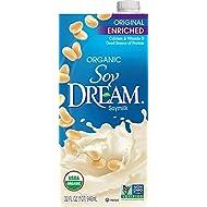 SOY DREAM Enriched Original Organic Soymilk, 32 fl. oz. (Pack of 12)