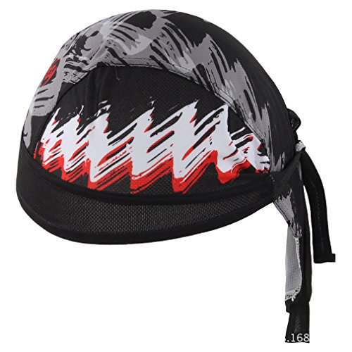 TESOON Cooling Adjustable Headwear Running Cycling Mountain Hiking Skull Cap