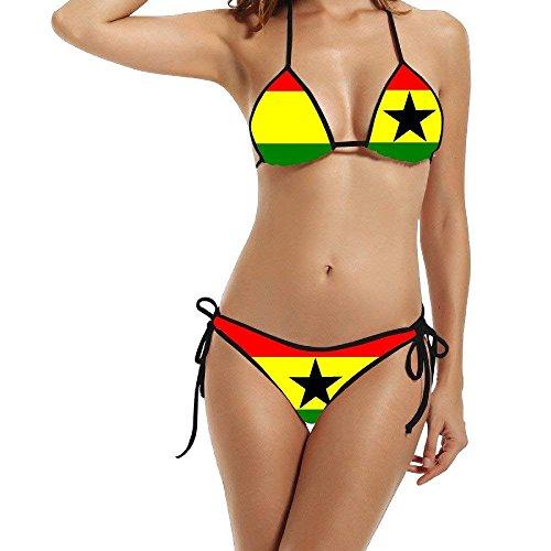 Set Swimwear Logo Wonder 1 Size Hotgirl4 Women Bikini Sexy Black qxRXYHTYw