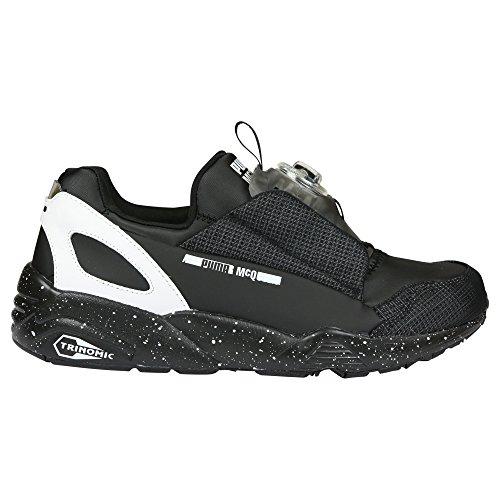 Sneaker Alexander McQueen PUMA en neoprene negro y blanco Negro (Black/White)