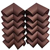 Image of iMagitek 12Pcs Cushiony Baby Corner Guards, Childproofing Edge Bumpers and Furniture Corner Protector Extra Dense Non Toxic Edge - Coffee