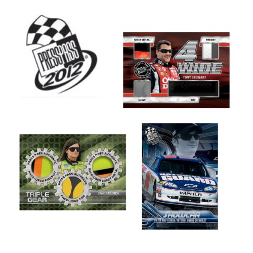 2012 Press Pass Racing box (30 pk HOBBY) (Press Pass Racing Hobby Box)