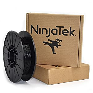 NinjaTek 3DNF01117505 NinjaTek NinjaFlex TPU Filament, 1.75mm, TPE.5kg, Midnight (Black) (Pack of 1) by NinjaTek