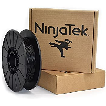 NinjaTek 3DNF01117505 NinjaTek NinjaFlex TPU Filament, 1.75mm, TPE.5kg, Midnight (Black) (Pack of 1)
