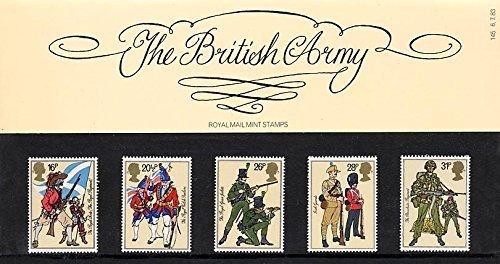 Royal Mail 1983 British Army Presentation Pack PP124 (printed no. 145) Stamps