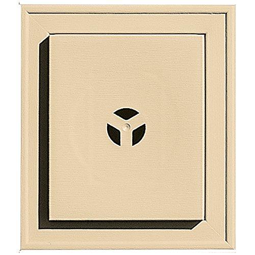 Builders Edge 130110002012 Squared Mounting Block 012, Dark Almond (Dark Almond 012)