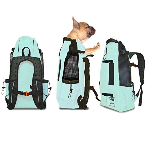 K9 Sport Sack AIR | Pet Carrier Backpack for Small and Medium Dogs | Front Facing Adjustable Pack | Veterinarian Approved Safe Bag for Travel to Carry Canine (Small, Summer Mint) Review
