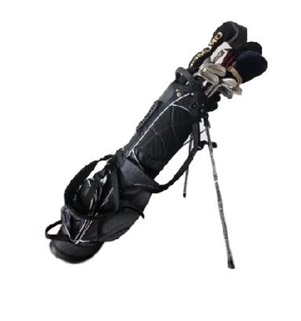 Easy 2 Find GTゴルフスタンドバッグ スタンドゴルフバッグ ディバイダーオーガナイザー フロアスタンド ストレージ キャリーストラップ スタンドゴルフクラブ 機器バッグ 電子書籍 B07GZY3SYN