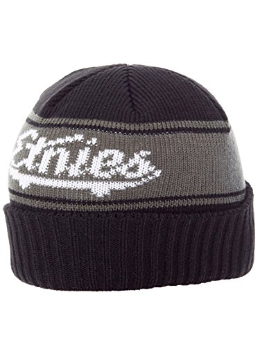 Etnies Strife Beanie One Size Black Grey - Etnies Mens Beanie