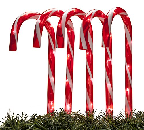 Light Up Candy Cane Outdoor in US - 5