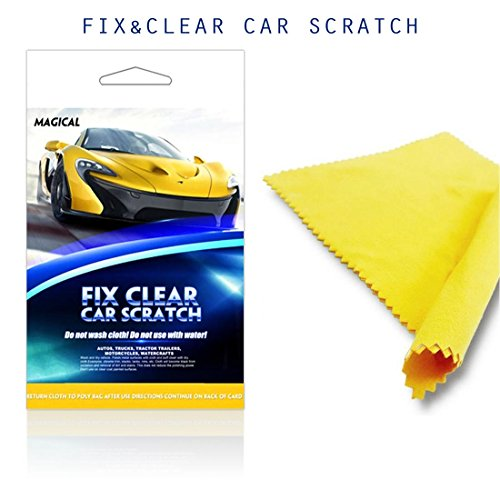 Mookis Car Scratch Remover Fix Clear Car Paint Scratch Repair Cloth for Light Paint Scratch and Scuffs