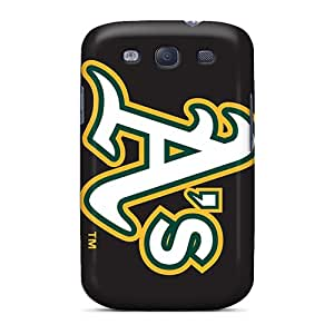 Samsung Galaxy S3 YUf5083klhA Support Personal Customs Realistic Oakland Athletics Skin Best Cell-phone Hard Covers -AaronBlanchette
