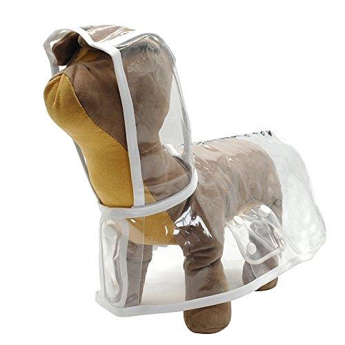 Waterproof Pet Clothes Raincoat - 6