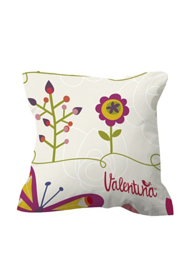 Valentina 1 Funda de cojín Two Butterflies Multicolor 60 x 60 cm