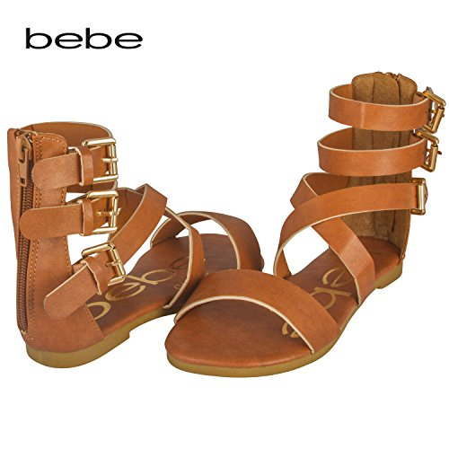 40766c969a35 bebe Triple Sandals Zipper Colors product image