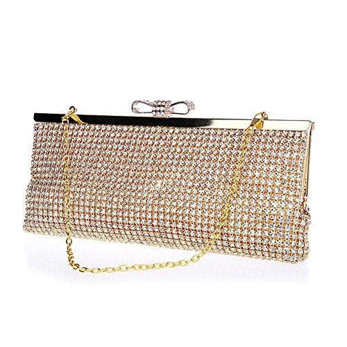 Rhinestone Evening B Party Bag Bag b Fashion Clutch Zttrp