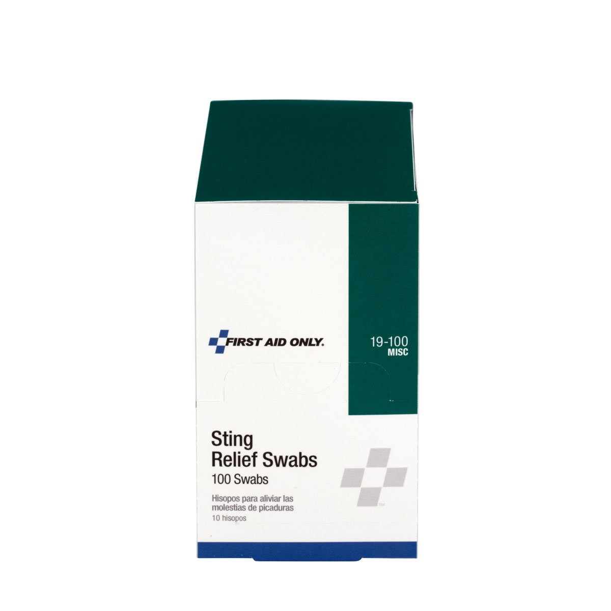 Pac-Kit by First Aid Only 19-100 0.018 fl oz Anesthetic/Antiseptic Sting Relief Swab (Box of 100)