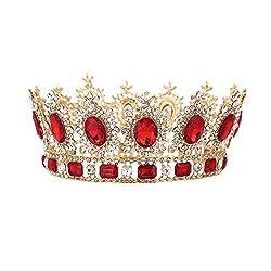 Vintage Crystal Wedding Crown