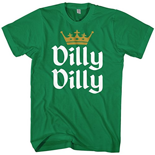 Mixtbrand Men's Dilly Dilly Gold Crown T-Shirt 4XL Kelly