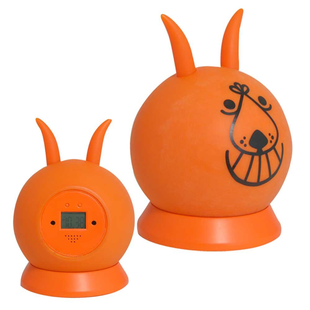 Para saltar reloj despertador Space Hopper Alarm Clock naranja ...