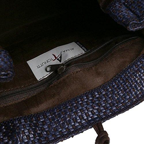Marino Grab Alma Tonutti Mujeres Bag Azul Carlotta qF84wP