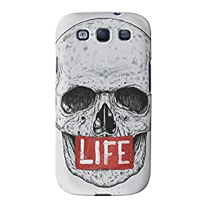 Life 2 Full Wrap High Quality 3D Printed Case for Samsung? Galaxy S3 by Balazs Solti + FREE Crystal Clear Screen Protector