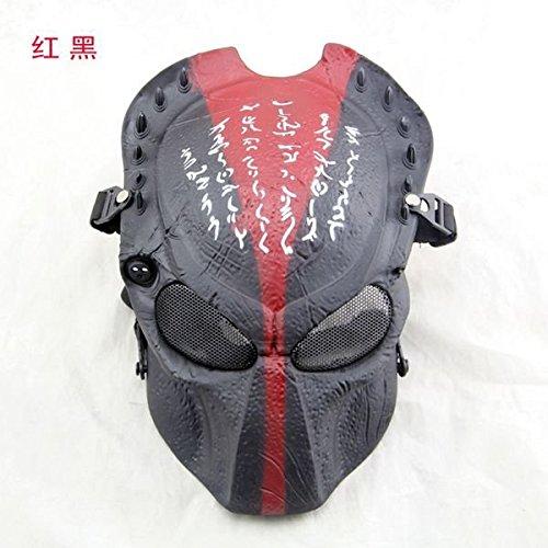 2158  (Predator Mask Halloween)
