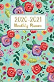 2020-2021 Monthly Planner: Floral Watercolor Cover | Two Year - Monthly Calendar Planner | 24 Months with Holiday Jan 2020 to Dec 2021 | Plan Ahead ... 2 Year Calendar 2020-2021 Monthly Planner)