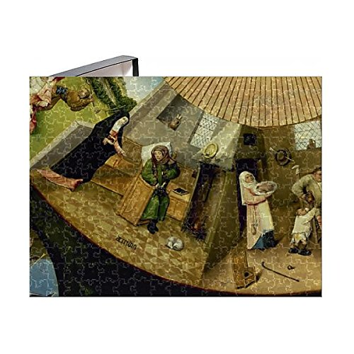 252 Piece Puzzle of Table of the Seven Deadly Sins by Hieronymus Bosch (14404090) ()