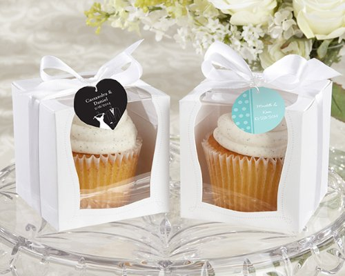 ''Sweetness & Light'' Cupcake Boxes (Set Of 12) , 8 by FavorOnline