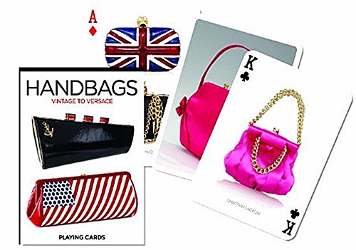 Handbags - From Vintage to Versace set of 52 playing cards + jokers - Sign Versace