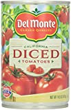 Del Monte Pealed Diced Tomatoes - 14.5 oz