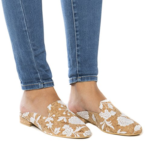 nae Vero - Women Vegan Loafer Flats | Made of Cork with Ecological, Breathable and Anti-Allergy Microfiber