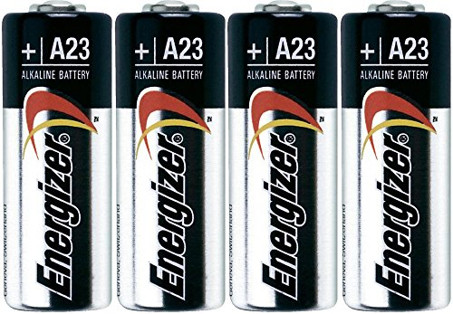 23a Battery (Energizer A23 Battery, 12V (Pack of 4))