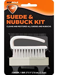 Sof Sole Suede and Nubuck Cleaning Brush Kit for Shoes