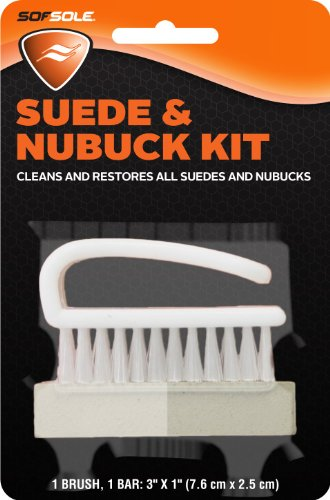 (Sof Sole Suede and Nubuck Cleaning Brush Kit for Shoes)