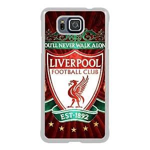 Liverpool 7 White Samsung Galaxy Alpha Screen Phone Case Fashion and Attractive Design